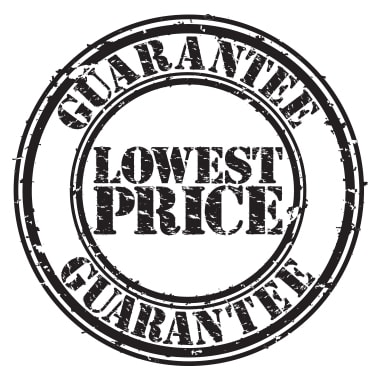 Lowest Price Guarantee Logo