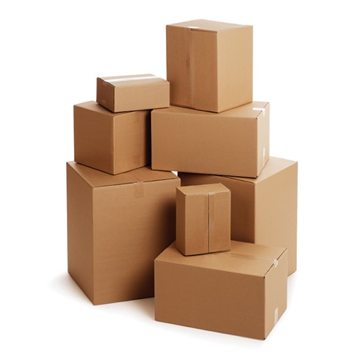 Assorted Shipping Boxes