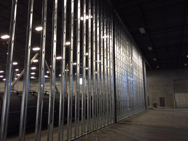 Interior Wall Installation
