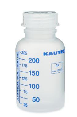 KAUTEX PP PLASTIC KAUTEX GRADUATED LEAKPROOF BOTTLES