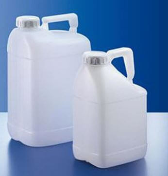 2.6 GAL NATURAL HDPE PLASTIC UN RATED JERRY CANS