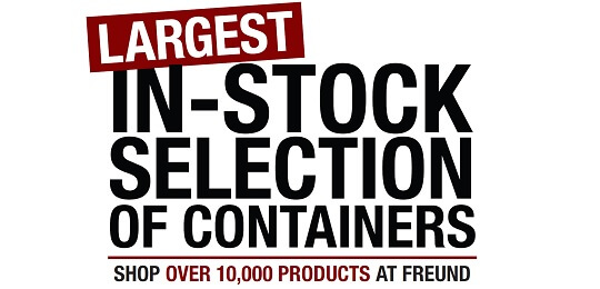 Largest Stock of In-Stock Containers