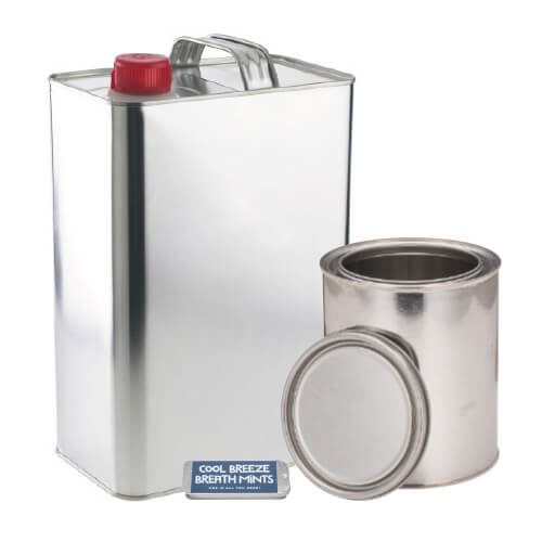 Assorted Metal Containers